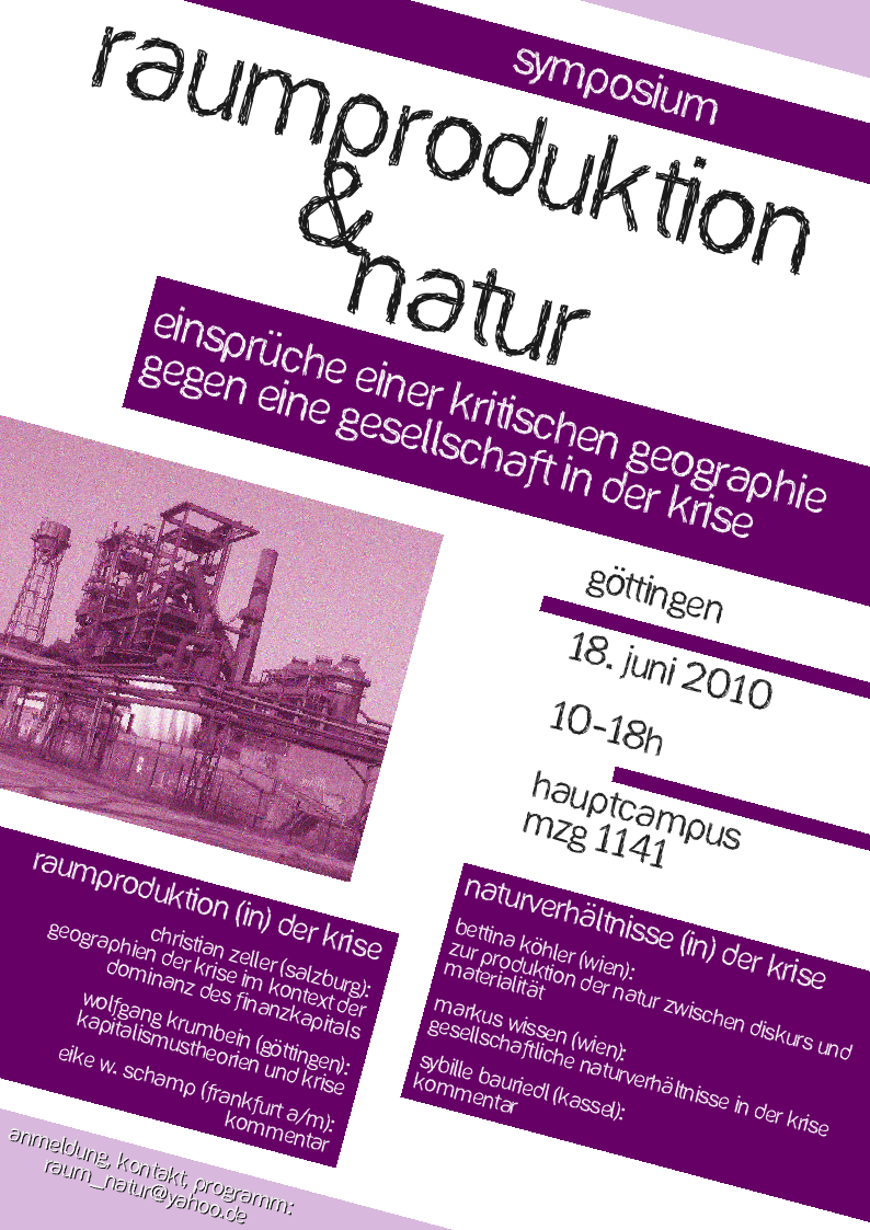 Symposium Göttingen
